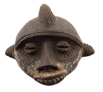 Mask African Passport Miniature Divination Fetish Magic Trick Tribal 6504 B2B