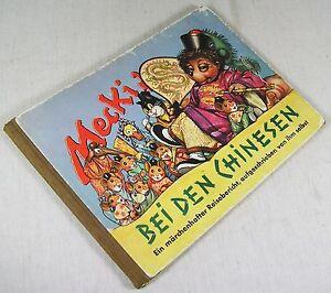 Mecki bei den Chinesen - Ein märchenhafter Reisebericht - 4. Band - 1955 /v2