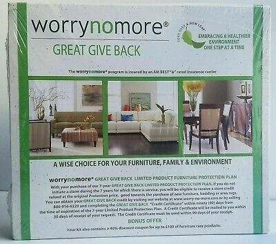 NEW WORRYNOMORE Furniture Cleaning & Protection Kit Microfiber Leather Wood