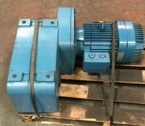 Mannesmann Demag Motor & Gear Drive / 5.63 HP / 1725 RPM / 3 Ph