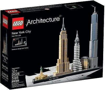 New LEGO Architecture 21028 New York City Skyline USA Set  Age 12+ Empire State