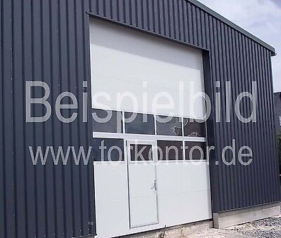 Industrietor, Sektionaltor, Hallentor 3500 x 4000 mm NEU, kostenfreie Lieferung