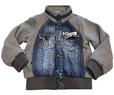 Boys Vintage Urban GES Jean Denim & Fleece Snap Lined ...