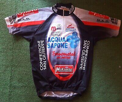 Retro Aqua Sapone Caffe MoKambo De Rosa Pro Cycling Team cap