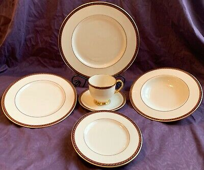 Lenox Fine China Presidential Collection Monroe 6-Piece Place Setting w/Bowl Monroe Lenox China