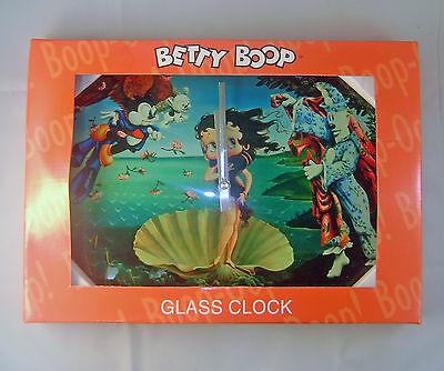 Betty Boop Venus Glass Clock