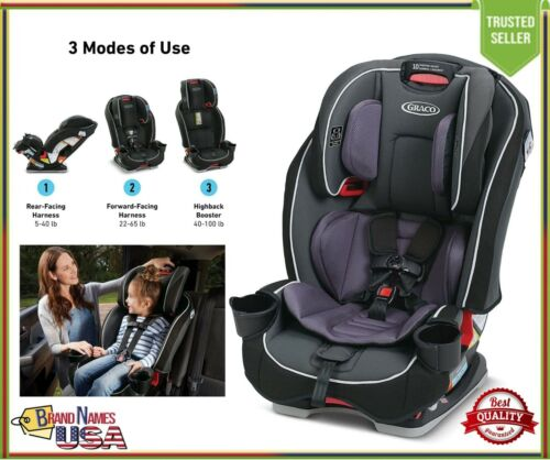 Graco SlimFit All in One Convertible Car Seat Rear to Forward Facing, Annabelle