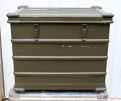 orig Bundeswehr Kiste Transportkiste Aufbewahrungskiste Alukiste A10 AA mit Einb