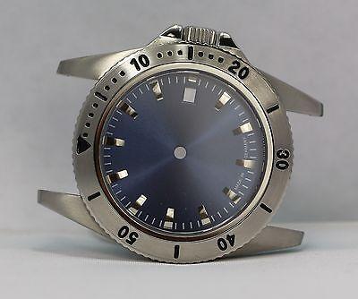 316L Uhrengehäuse ETA 2824-2 + Zifferblatt Saphirglas 38mm  NEU