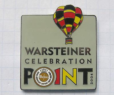 WARSTEINER CELEBRATION 2004 ............. Bier Ballon Pin (115a)