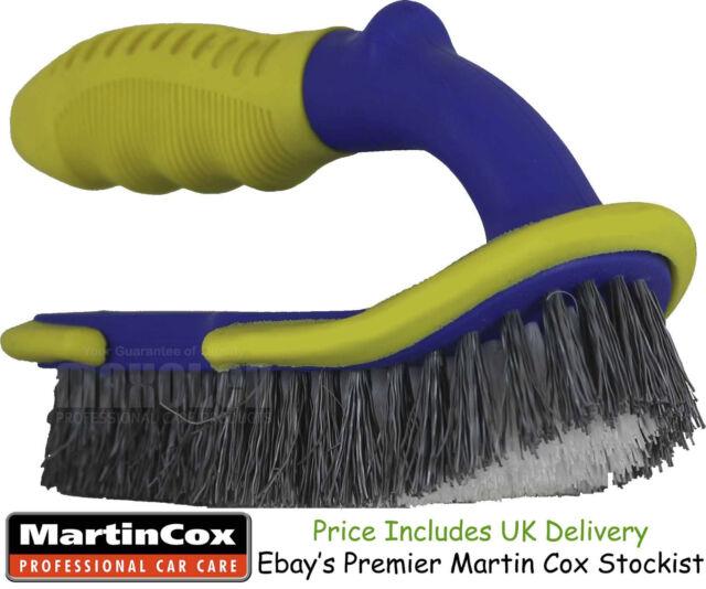 Professional Quality Large Stiff Bristle Upholstery Carpet Brush Car Valeting