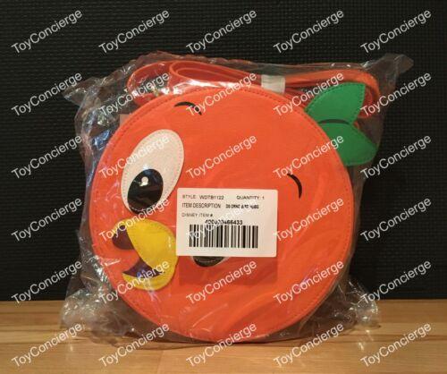 ^ DISNEY / LOUNGEFLY CROSSBODY BAG - ORANGE BIRD - NWT