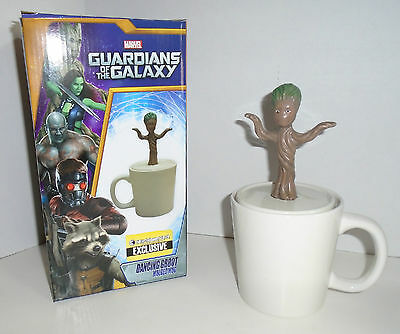 "GUARDIANS OF THE GALAXY ""BABY DANCING GROOT"" figural mug ceramic 16oz NEW"