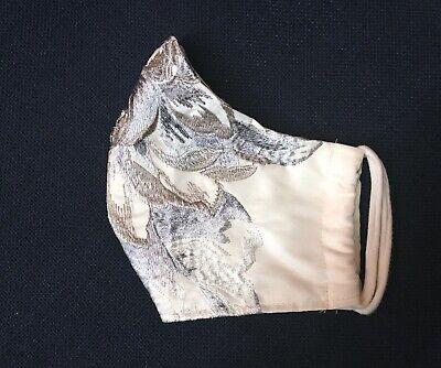 Luxus Da-Mundschutz Gesichtsmaske Alltagsmaske 2-lagig, edel Fest Hochzeit