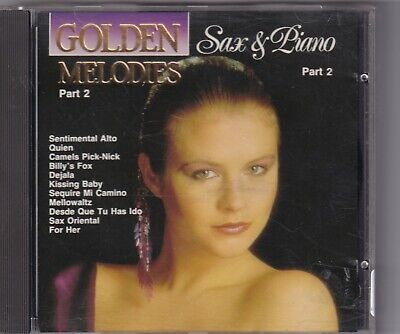 CD : The Golden Nightingale Orchestra - Golden Melodies : Sax & Piano part 2