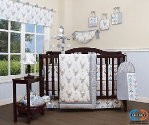 deer crib bedding | ebay