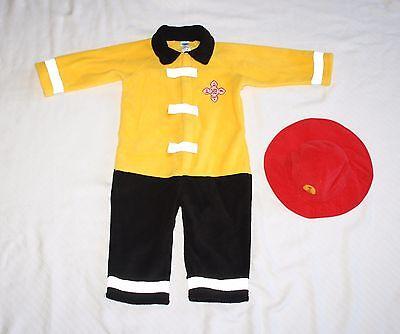 Old Navy Baby 18-24 months Firefighter 2pc Costume Bodysuit Hat Halloween