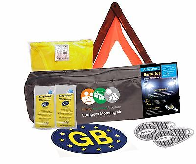 Euro European Travel Motoring Kit French France Abroad For Europe EU
