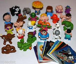 2013 GARBAGE PAIL KIDS MINIKINS COMPLETE SET + STICKERS + WRAPPER CHEAP TOYS