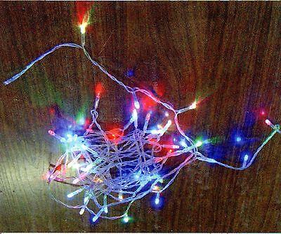 LED LICHTERKETTEN 3 M BUNT 60 LEDS BLINKER 2 ER SET