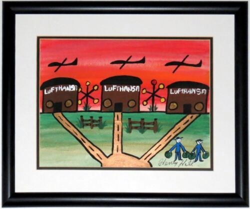 ORIGINAL GOODFELLAS MOVIE SCENE PAINTING BY HENRY HILL & AUTOGRAPHED FRAMED COA