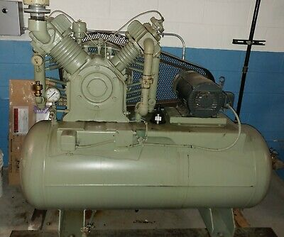 Gardner Denver Adr-1014 Compressor 10 Hp With Tank