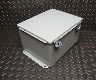 New Hoffman A10086ch Jic Junction Box 10 X 8 X 6 Inch Cut Out
