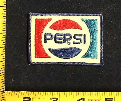 Vintage Pepsi Cola Uniform Patch