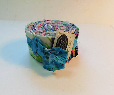 Holly Hill Quilt Shop Mercantile Jewel Tones Jelly Roll Fabric Strips for sale  Shipping to Canada