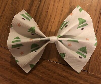 Girls Boutique Christmas Tree Alligator Clip Bow