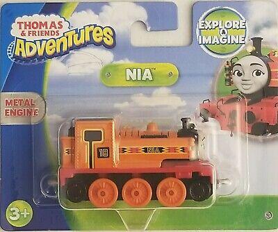 Thomas & Friends Adventures NIA Metal Train Engine Fisher Price FJP41