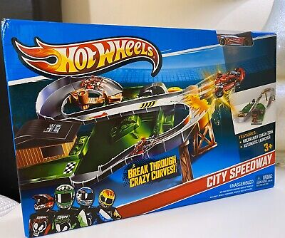 Hot Wheels City Speedway Playset Toy Car