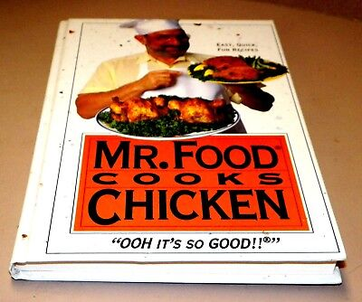 Cook Book Mr  Food Cooks Chicken  Hc Recipes