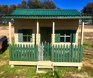 Large Timber Cubby House Mannum Mid Murray Preview
