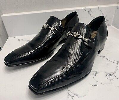 CARLO PIGNATELLI - Ceremonia, Loafers. Sz 11 EUR 45 Embossed Patent Leather