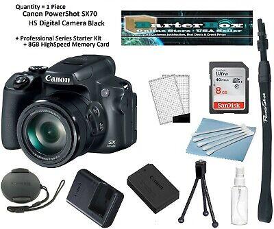 Independe Sale Canon PowerShot Sx70 HS 20.3 Mp Digital Camera + Memory, Pro. Kit ()