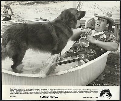 JOHN CANDY in Summer Rental '85 DOG
