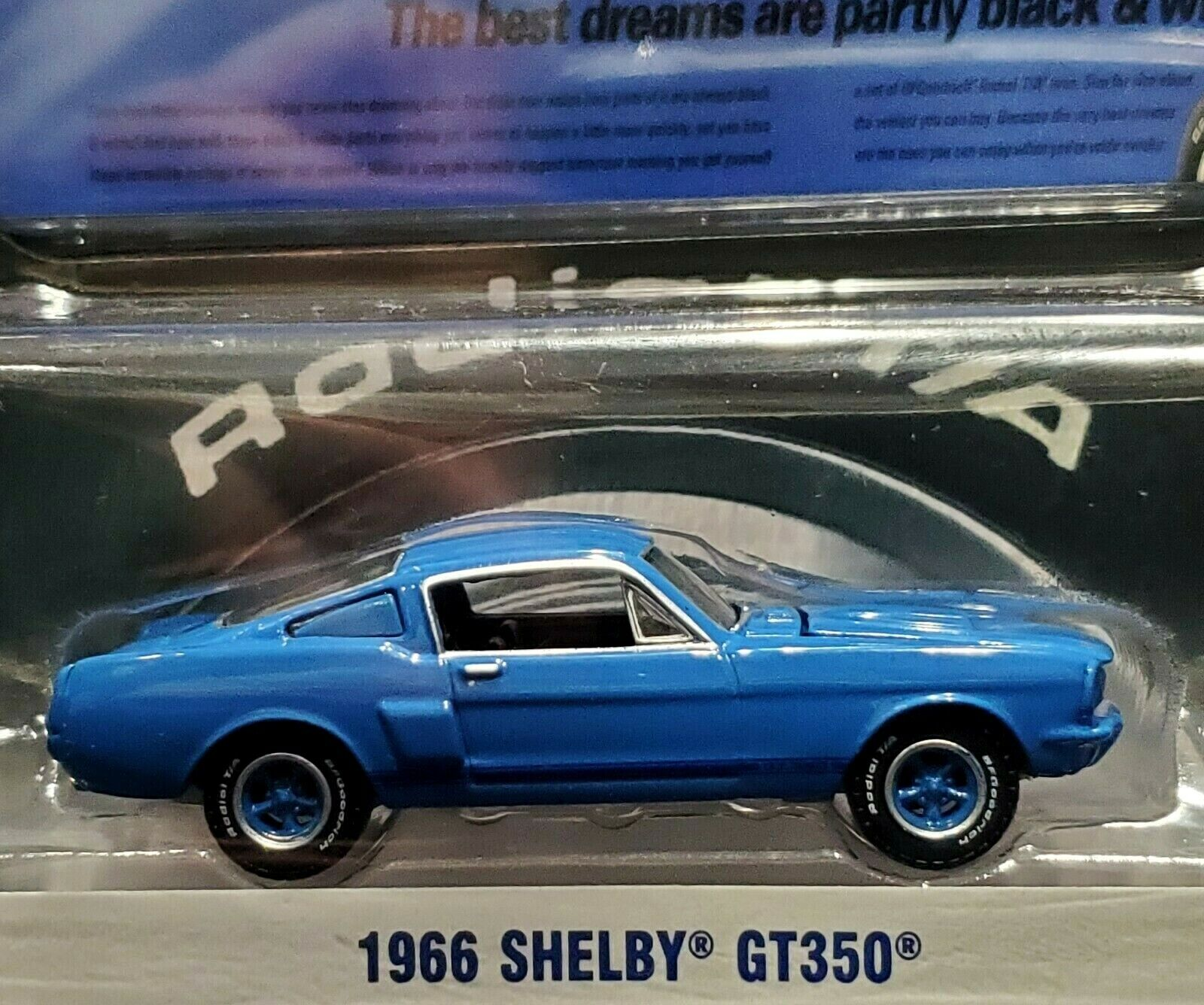 Greenlight 66 1966 Shelby GT350 BF Goodrich Hobby Exclusive
