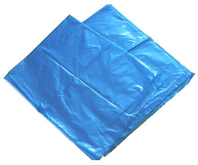 Blue Tinted Poly Bags 18