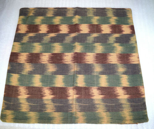 Hand Made Hand Woven Multi-Color Pillow Cover from Guatemala - Unique patterns