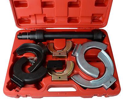 Fork Strut Coil Clamp Spring Compressor Macpherson Tool Set Kit Auto Garage UK
