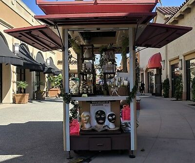 Retail Mall Kiosk Commercial Plaza Store Shopping Stand Convention Showcase Cart