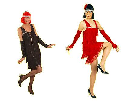 exklusives 3tg Damen Kostüm Jazz Flapper CHARLESTON 20er - 20er Jahre Mafia Kostüm