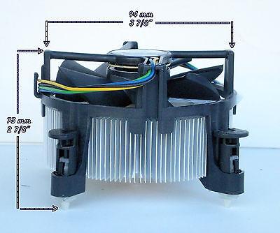 Intel Core i7 Heatsink CPU Cooler Fan for I7-920 I7-930 I7-940 I7-950 I7-960 New