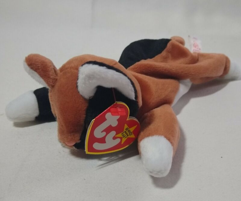 Retired TY Chip the Cat Beanie Baby