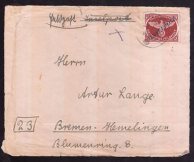 Deutsche Feldpost II. Weltkrieg Mi.Nr. 10Bb I gestempelt geprüft Mi.W.180€(7545)