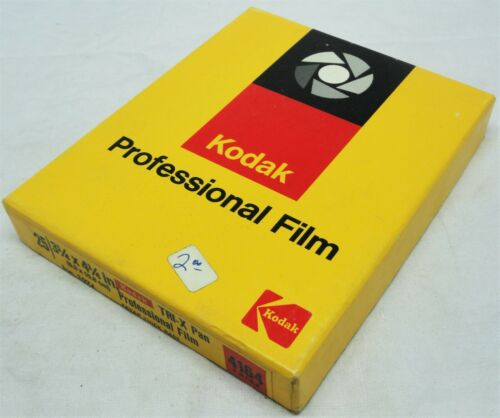 Kodak TRI-X Pan Professional Film 4164 Thick Sealed 25 3 1/4 x 4 1/4 Expired