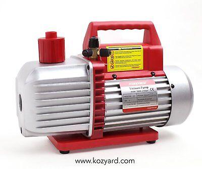Kozyvacu 8cfm Two-stage Rotary Vane Professional Vacuum Pump 15 Micron 34hp