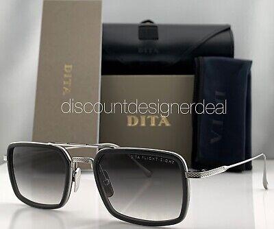 DITA FLIGHT EIGHT Sunglasses Silver Gray Frame Gray Gradient Lens (Dita Flight)
