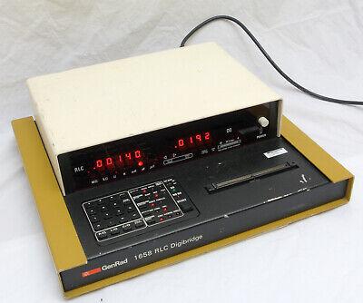 Genrad 1658 Rlc Digibridge Capacitance Inductance Meter With Gpib Tested Working